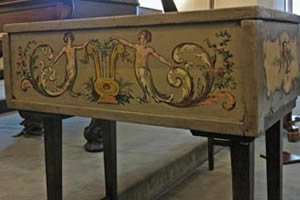 Pratensis Harpsichord (Italy, 1610)
