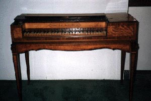 An image of the Trute Square Piano