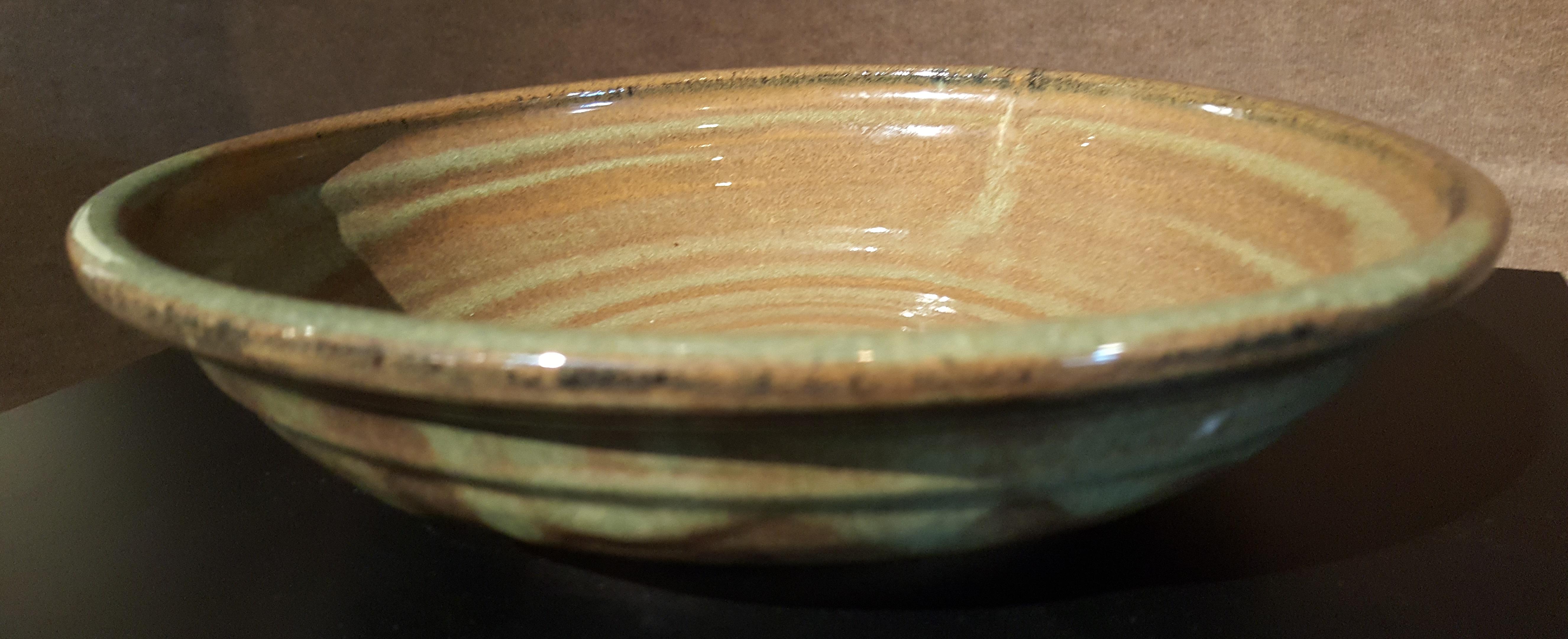 Bill Arnold, Brown Bowl, ceramic