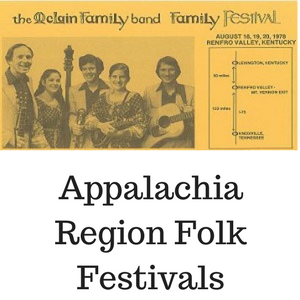 Appalachian Region Folk Festivals