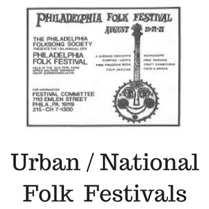 Urban and National Folk Festivals