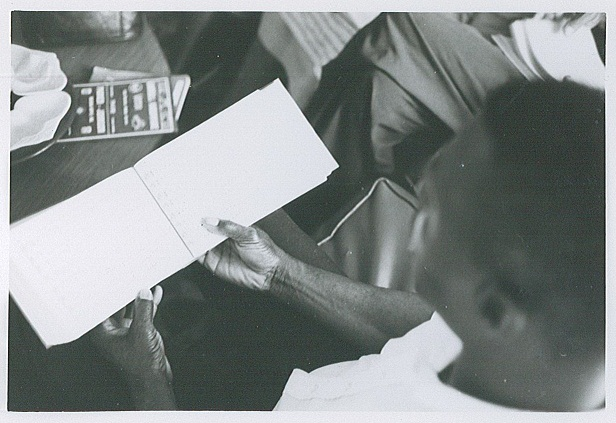 Singer using Sacred Harp, Cooper Revision, June 1968.