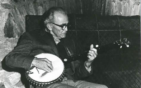 J. Roy Stalcup, Photo courtesy of David Brose, John C. Campbell Folk School, Brasstown, North Carolina.