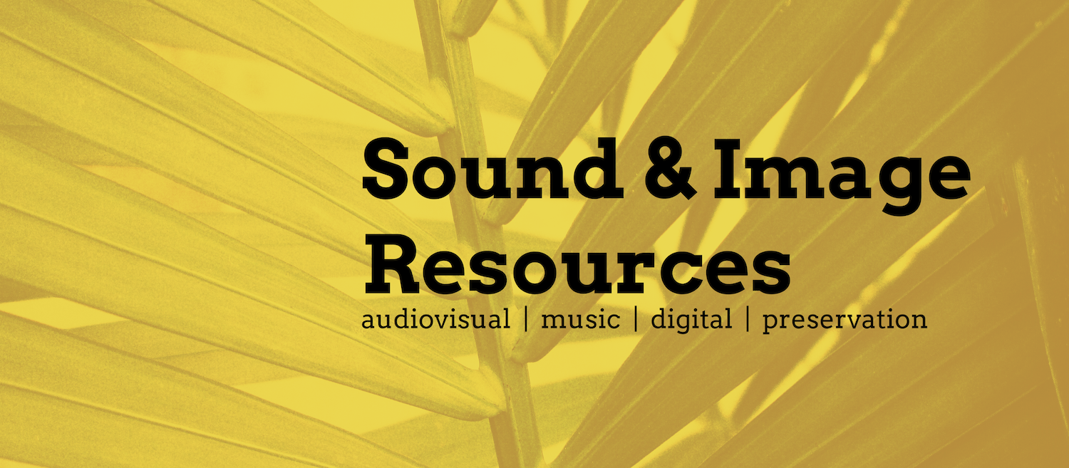 Sound and Image Resources