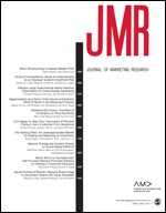 Journal of Marketing Research cover art