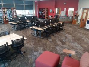 Midland Library interior
