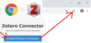 Download Zotero extension; see it on your browser.