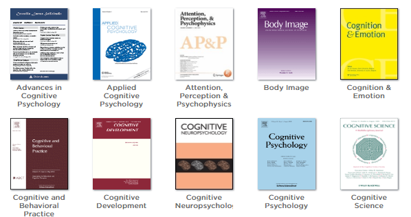 Cognition & Perception journals screenshot