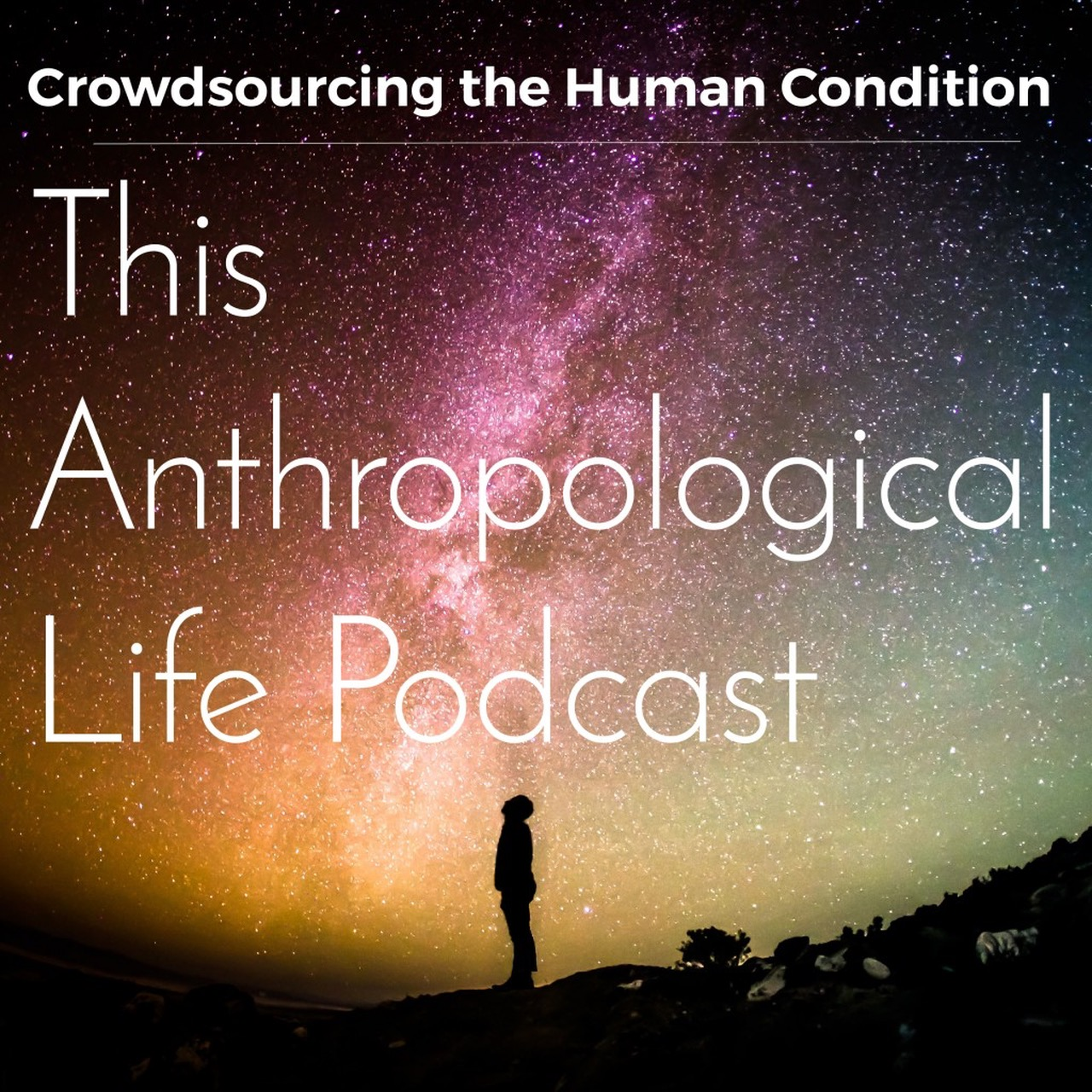 This anthropological life logo