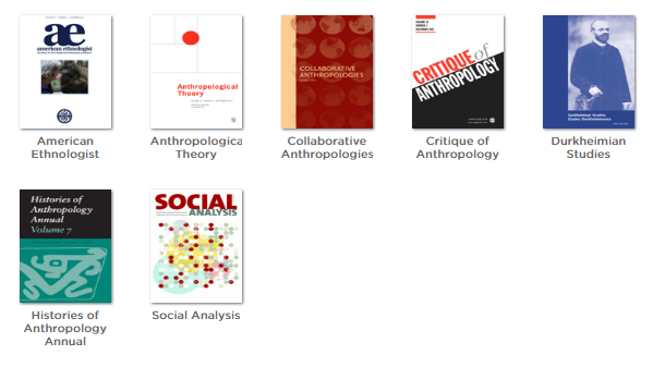 Anthropology theory & methods journals screenshot