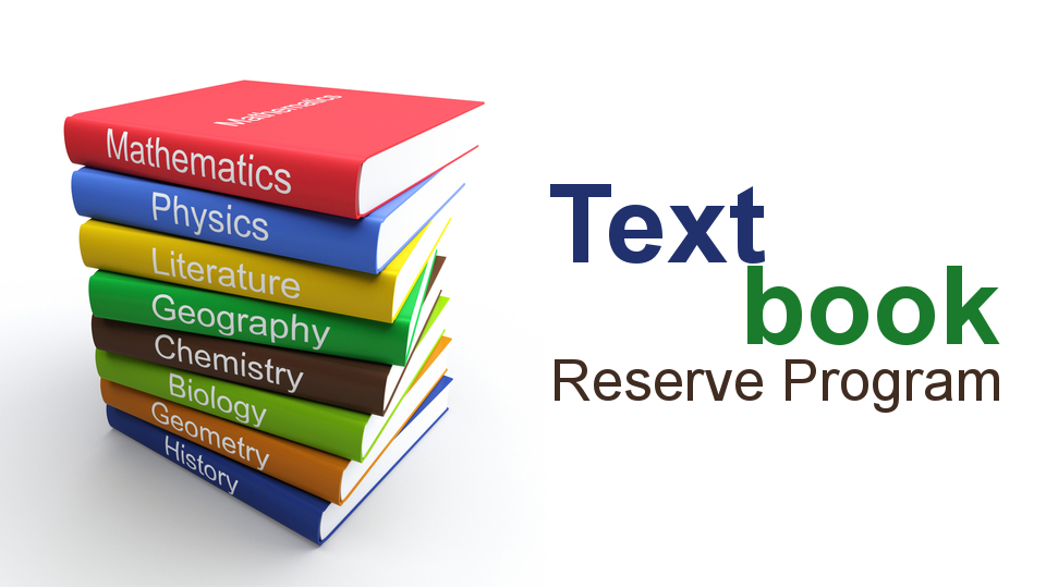 Advert of Textbook Reserve Program