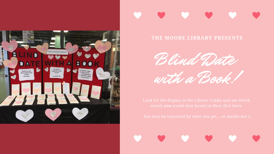 Event - Blind Date with a Book