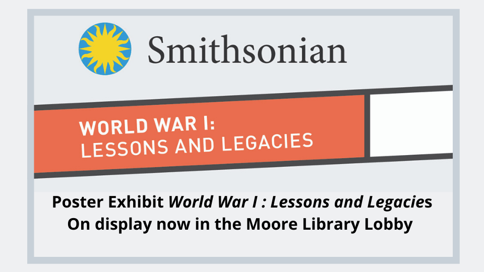 WWI Lessons and Legacies Poster Exhibit