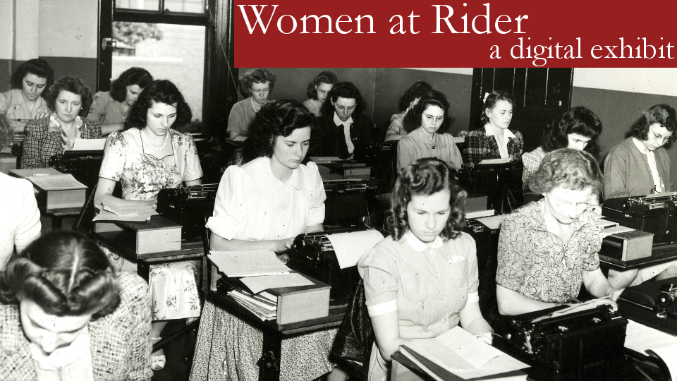 Women at Rider digital exhibit