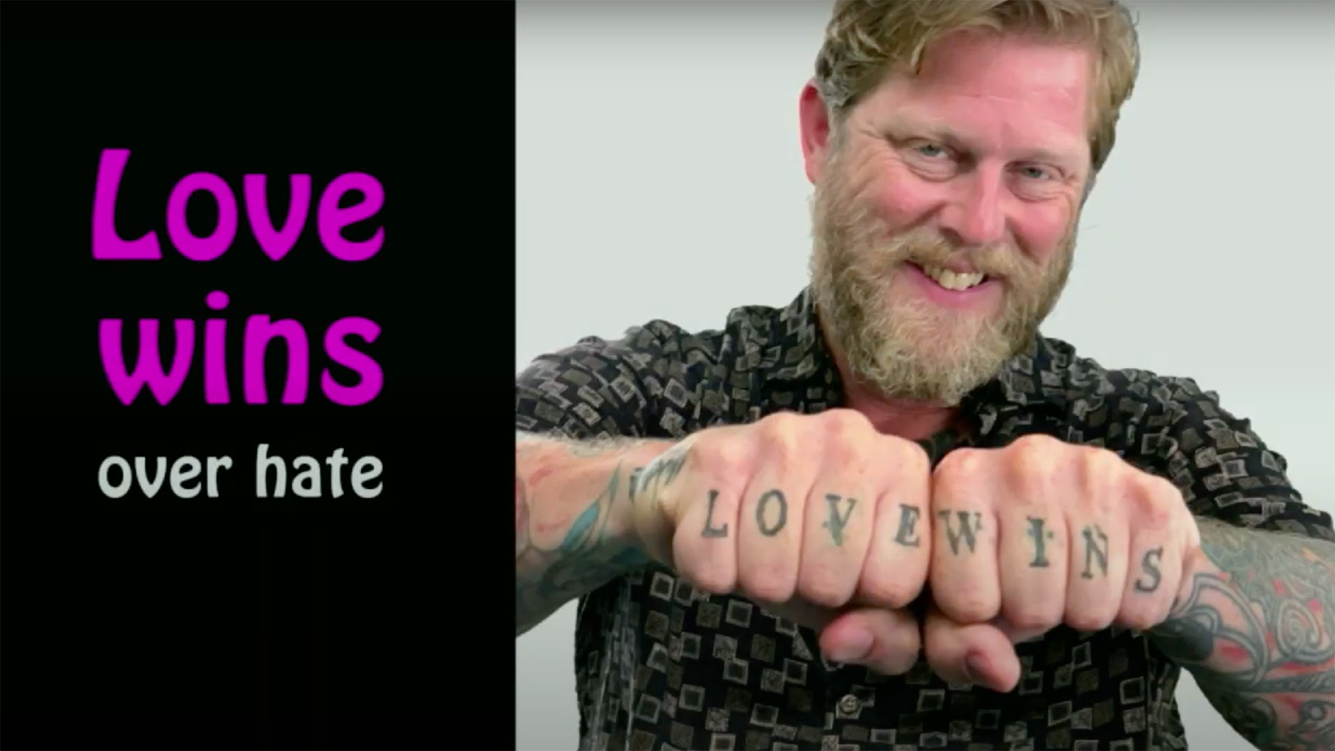 Love Wins Over Hate Documentary