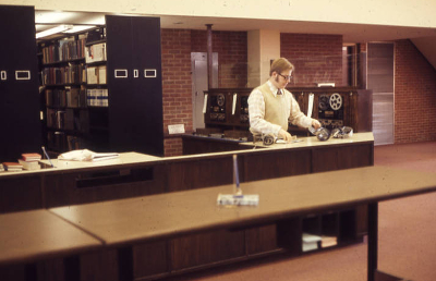 Talbott Circulation Desk