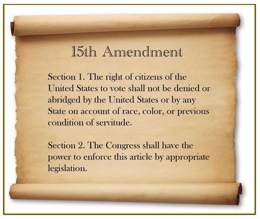 picture of the 15th amendment