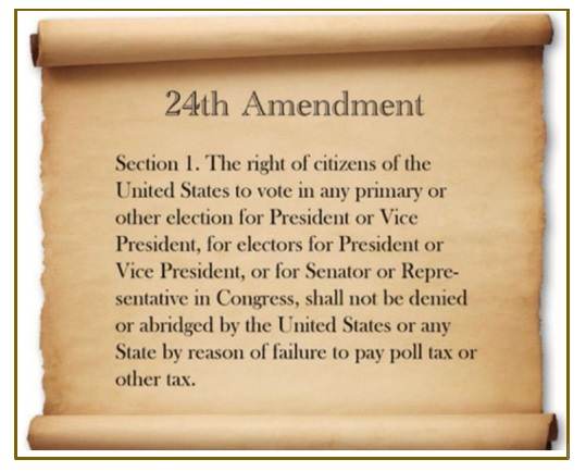 picture of the 24th amendment