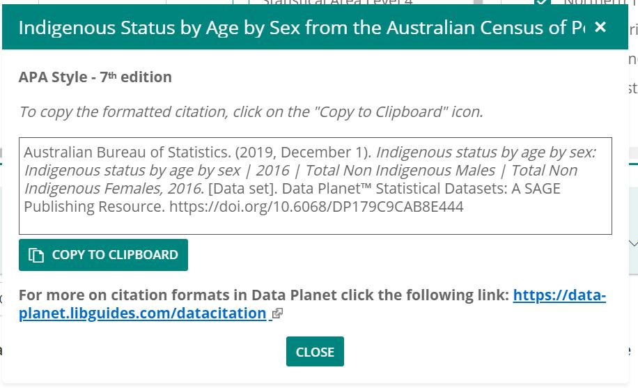 Sample formatted citation