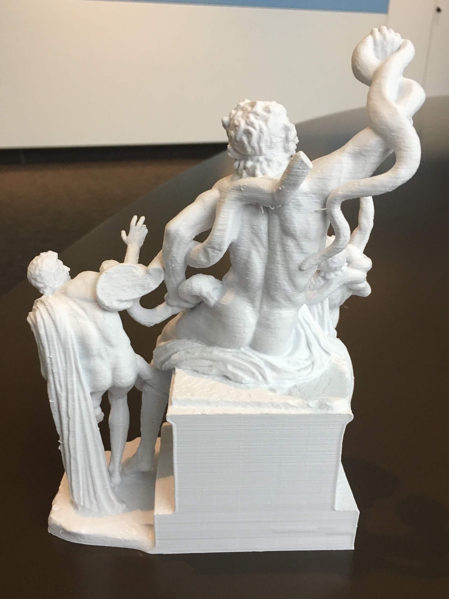 3D print of the statute Laocoön and His Sons