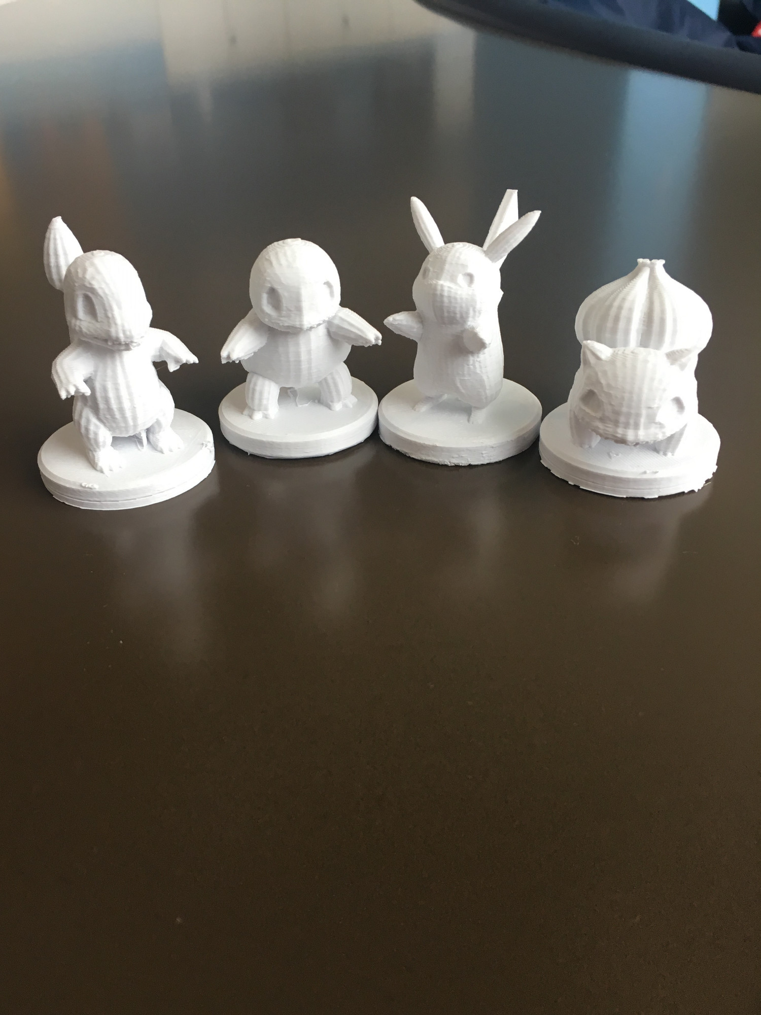 3D printed Pokemon pawns