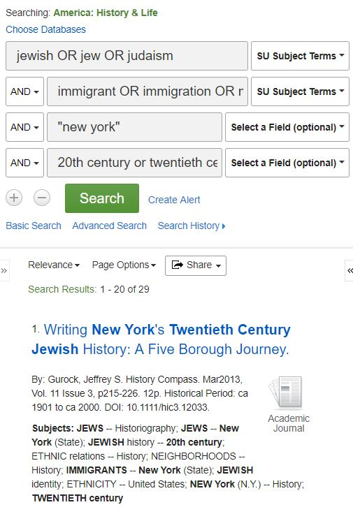 historical context about the experience of Jewish immigrants in early 20th century New York