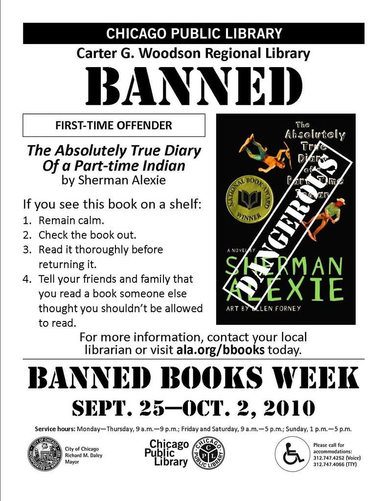 Banned Books Week Poster