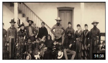 Video still from Foreigners in Their Own Land (1565-1880): The Latino Americans