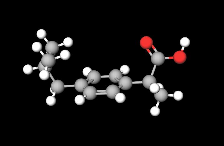 MolView-Ibuprofen-Molecule