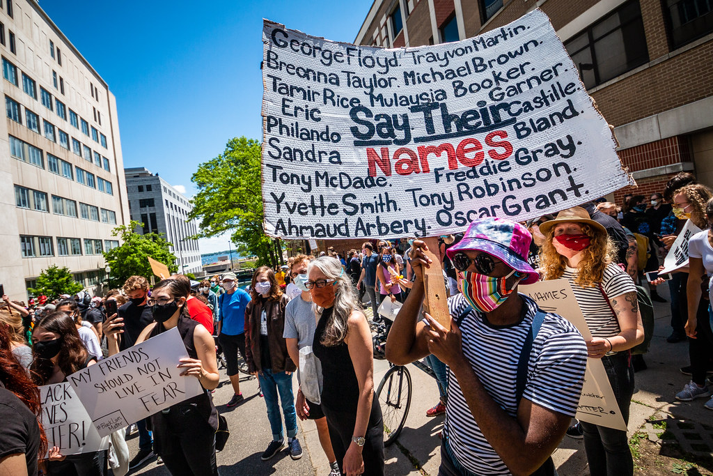 Say Their Names Protest CC image