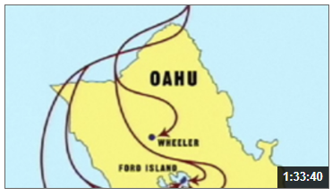 Map of Oahu from Film