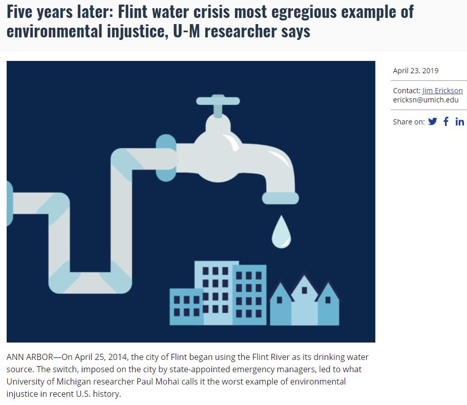 Flint and Environmental Justice