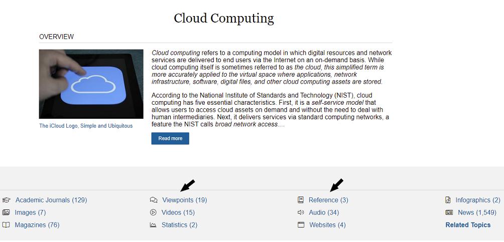 Opposing Viewpoints: Cloud Computing