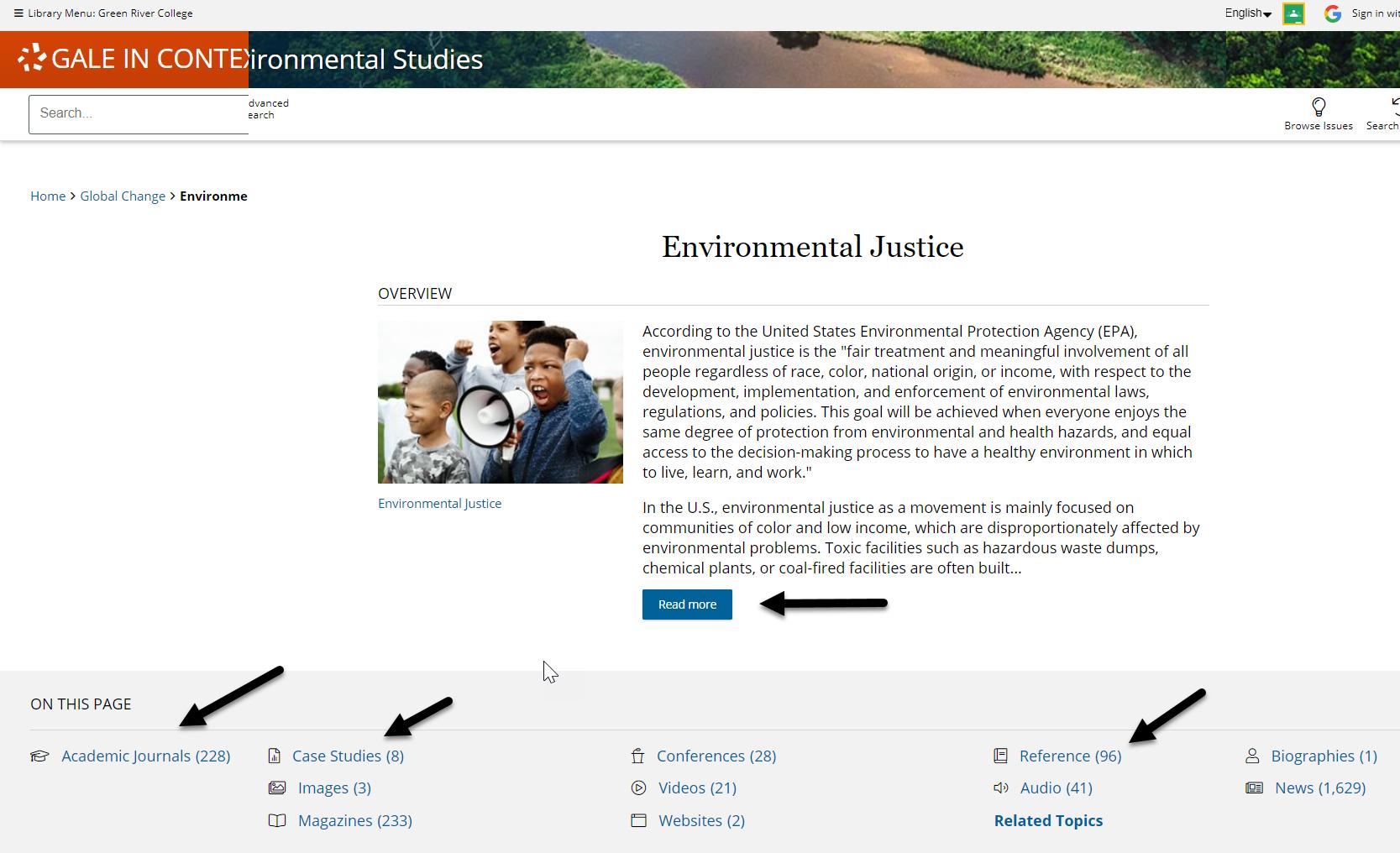 environmental studies environmental justice