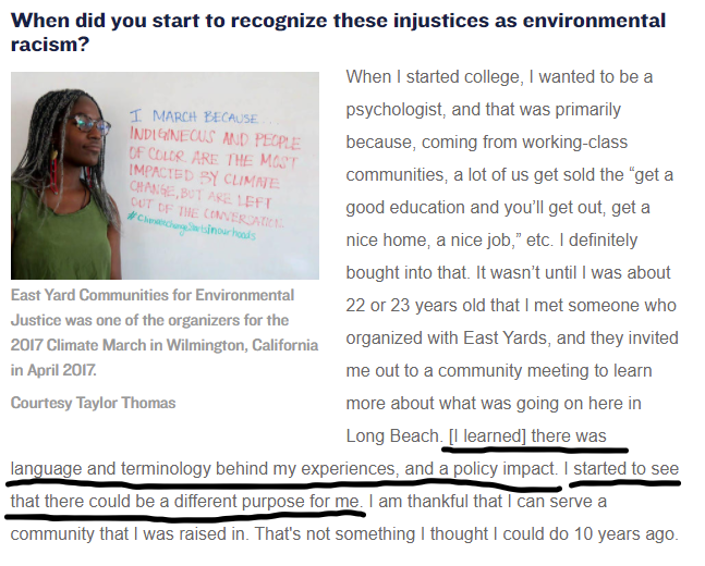 East Yard Communities for environmental justice interview