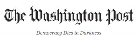 The Washington Post newspaper banner