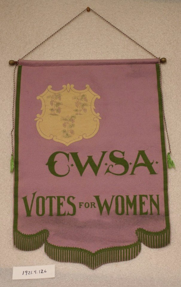 Banner CWSA Votes for Women
