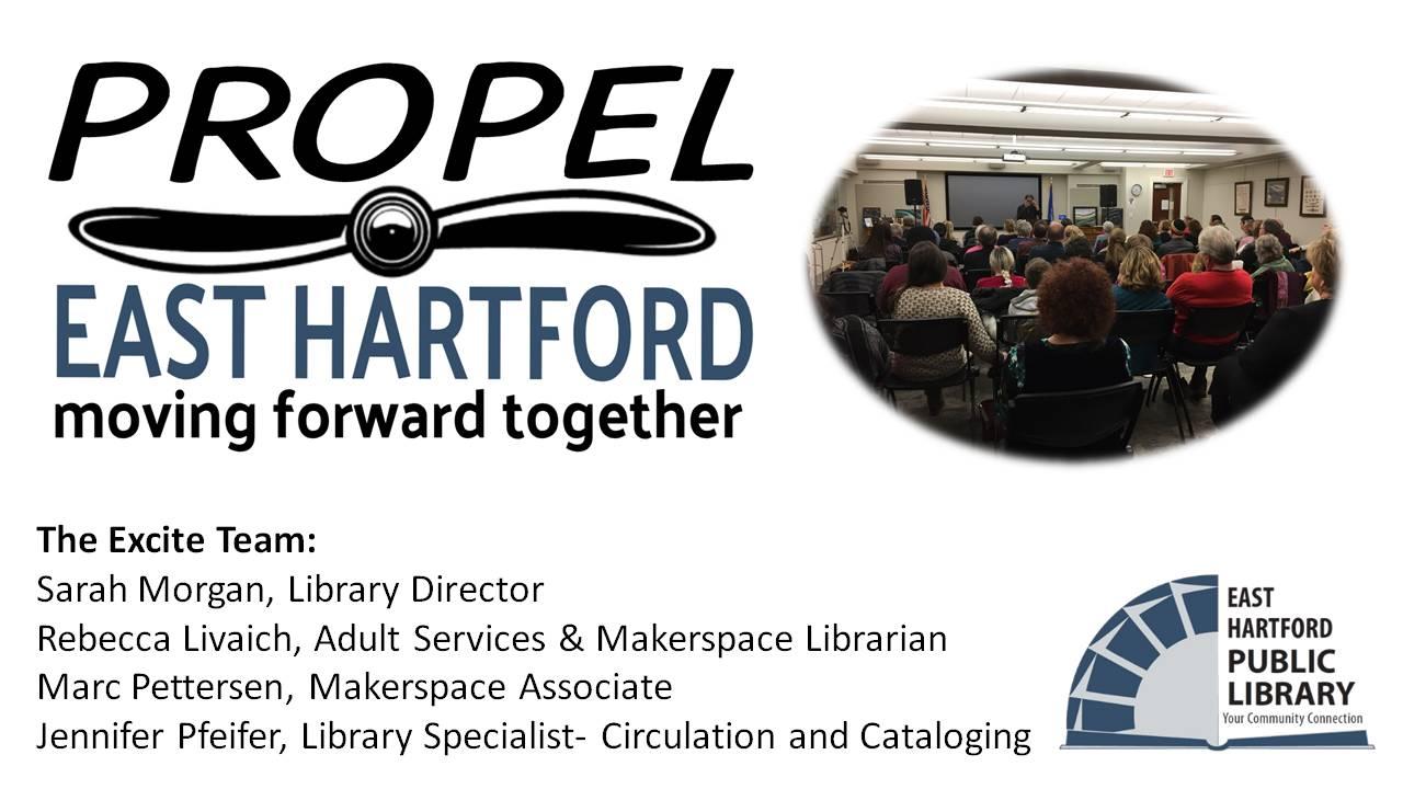 Propel East Hartford presentation slide