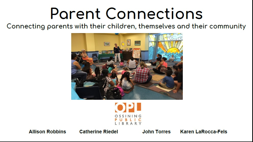 Parent Connections presentation slide