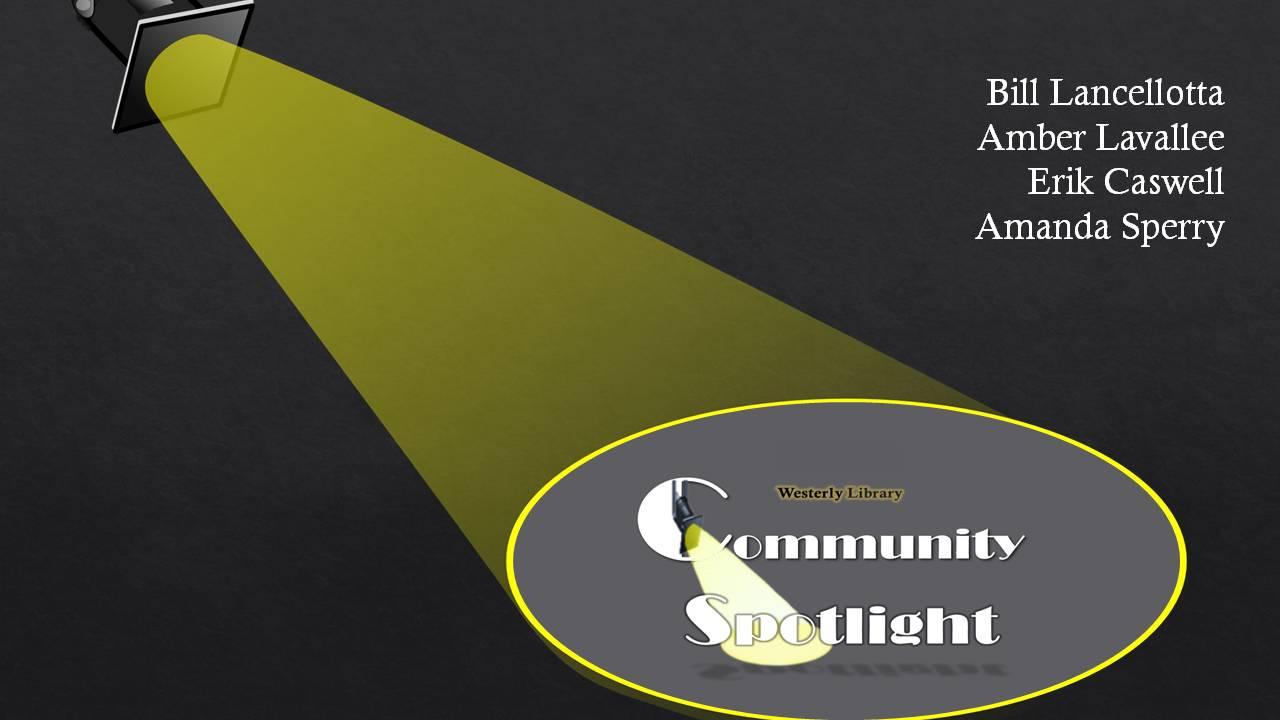 Community Spotlight presentation slide
