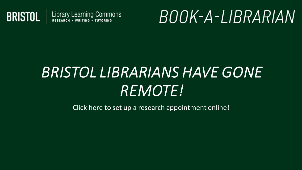 Bristol Librarians have gone online