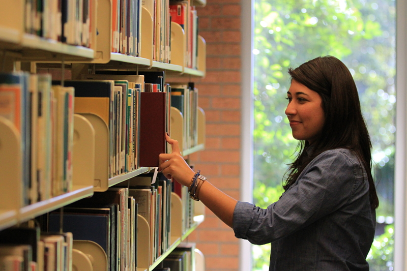 Library Stacks Picture