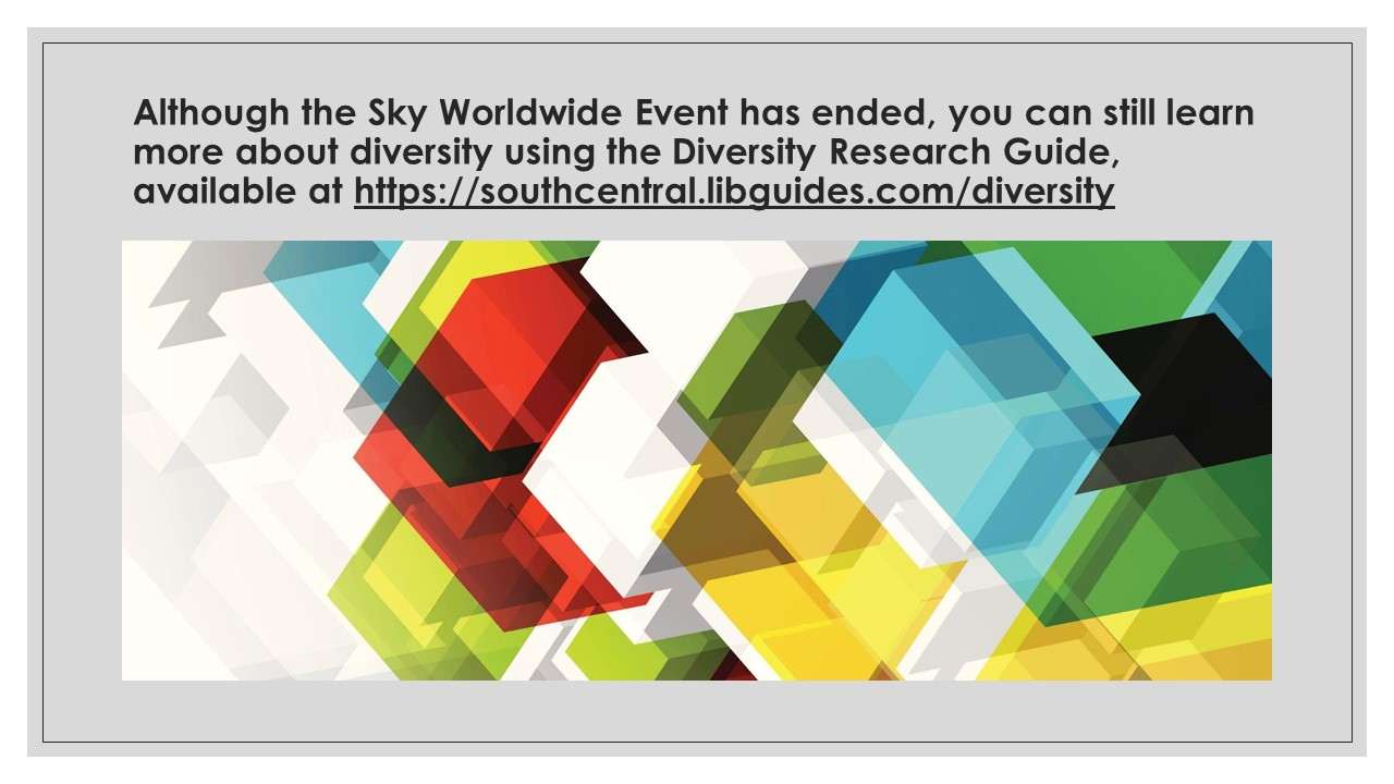 Diversity Research Guide