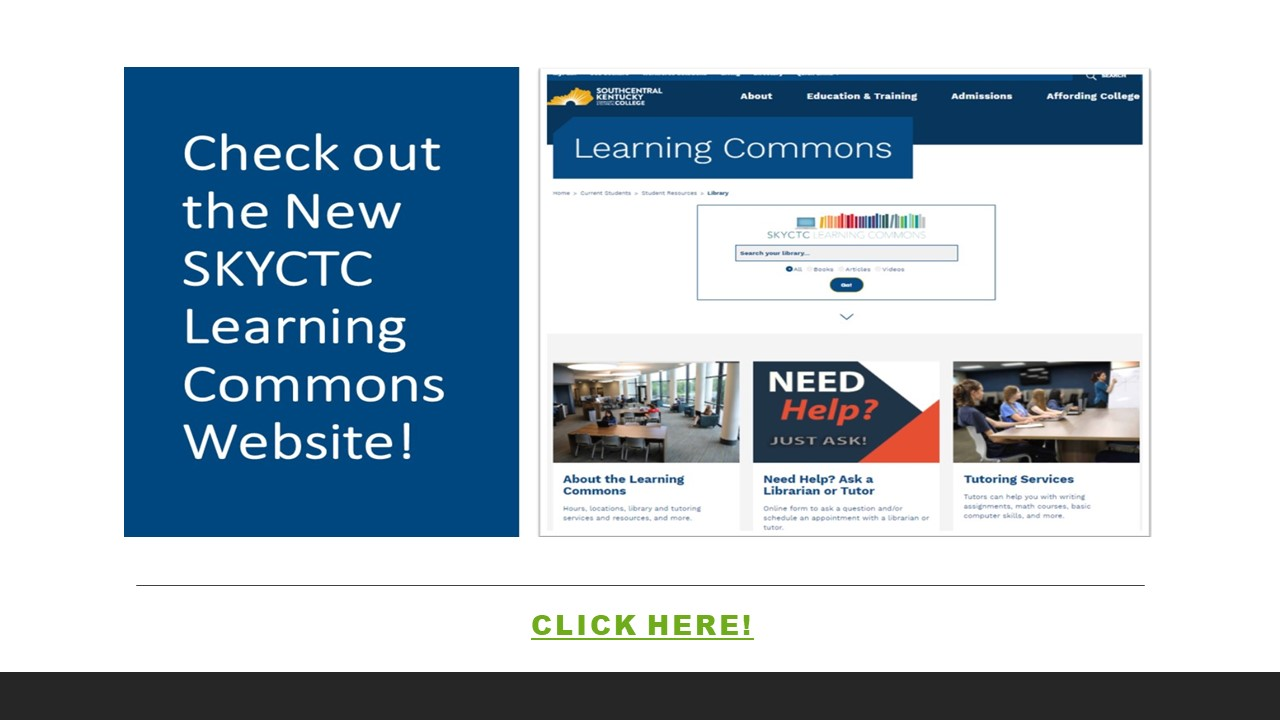 SKYCTC New Learning Commons Website