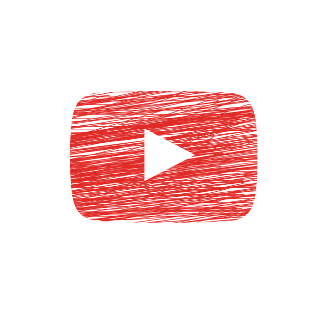 Play button for streaming video