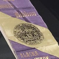 Artifacts and people related to Alaska's suffrage efforts