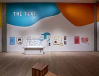 """The Text"" section of the exhibit."