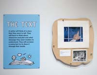 The Text label & illustrations by Jim Fowler