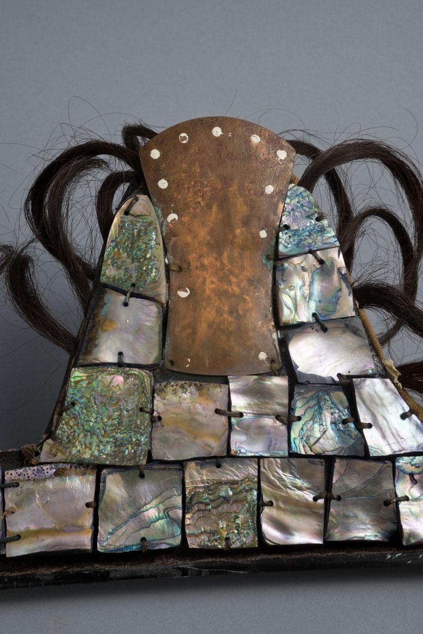 Paint loss hairlocks abalone holes.