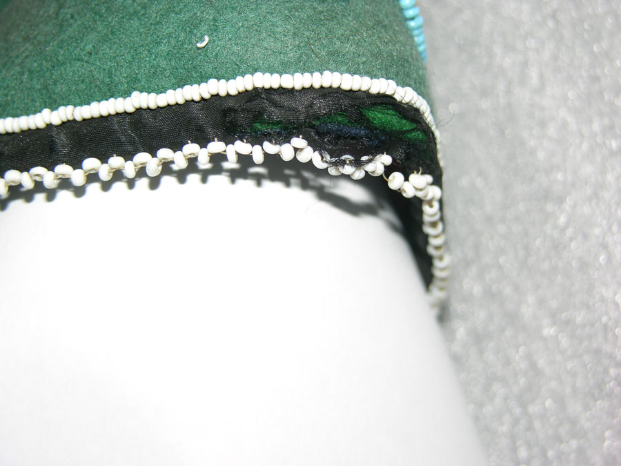 Shatter silk bead loss.
